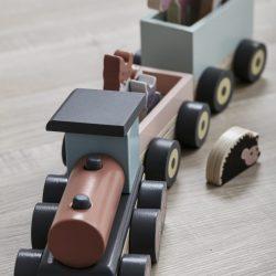 Edvin Wood Animal Train