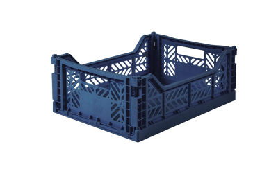 Aykasa Folding Crate - Navy