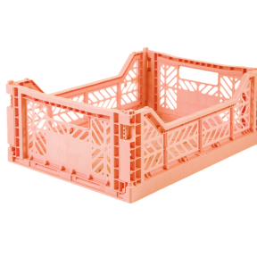 Aykasa Folding Crate - Salmon