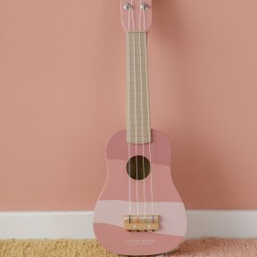 Little Dutch Wooden Guitar -Pink