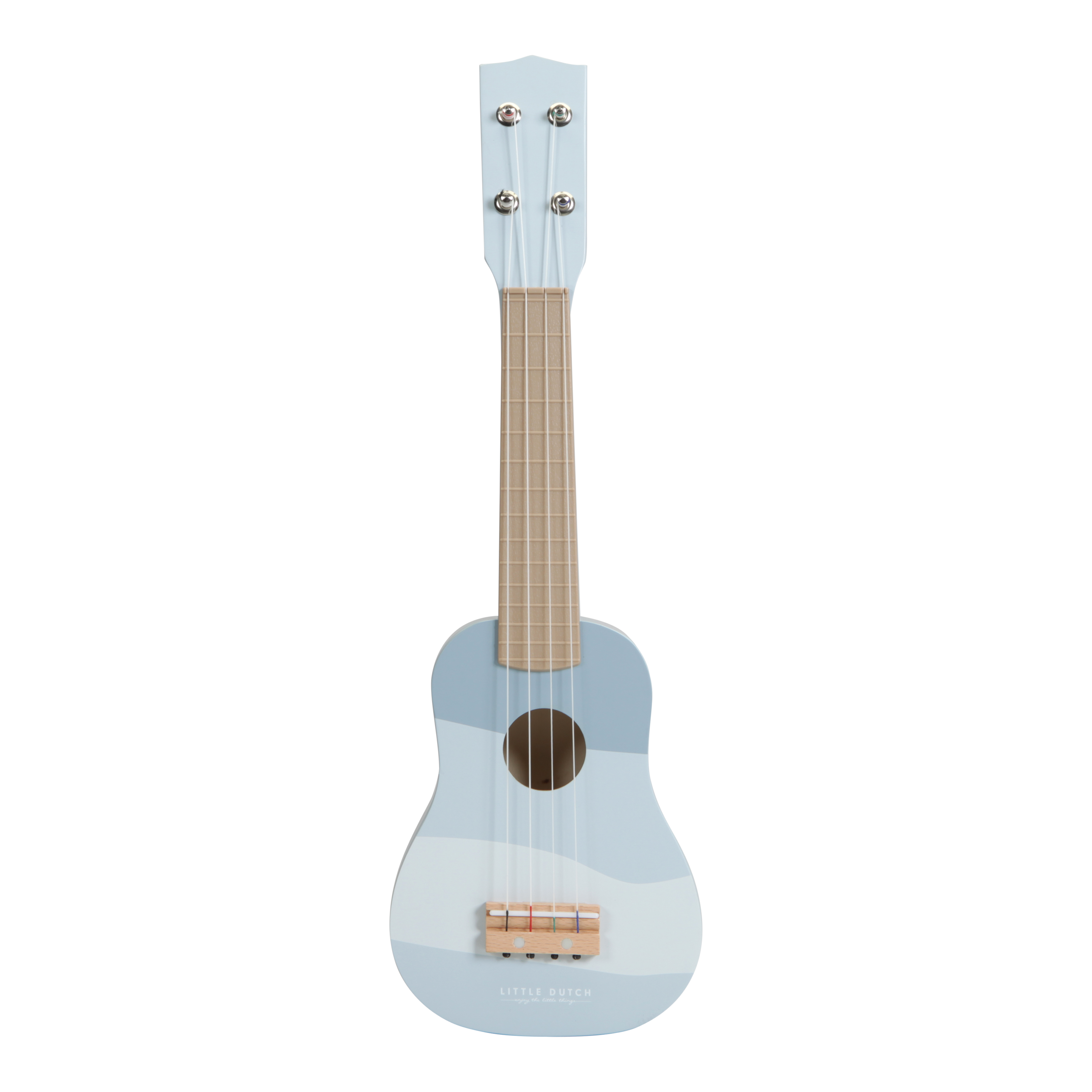 Little Dutch New Wooden Guitar -Blue